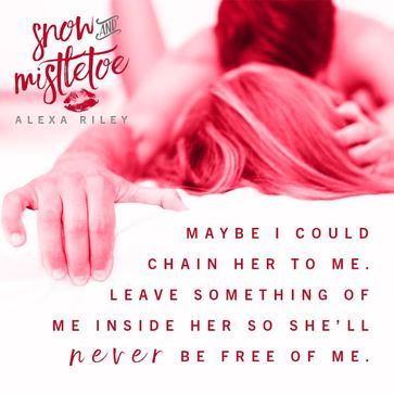 Alexa Riley, snow and mistletoe