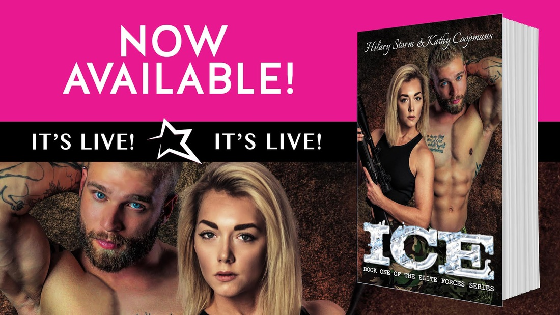Ice, Military Romance, Romance, Hilary Storm, Kathy Coopmans