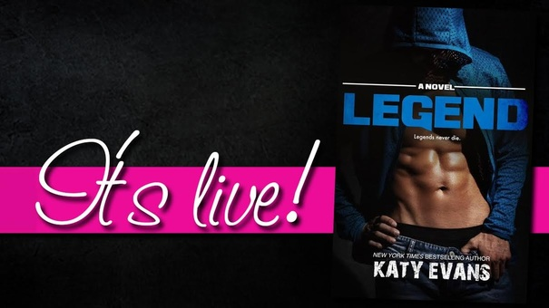 Legend, Real Series, Katy Evans